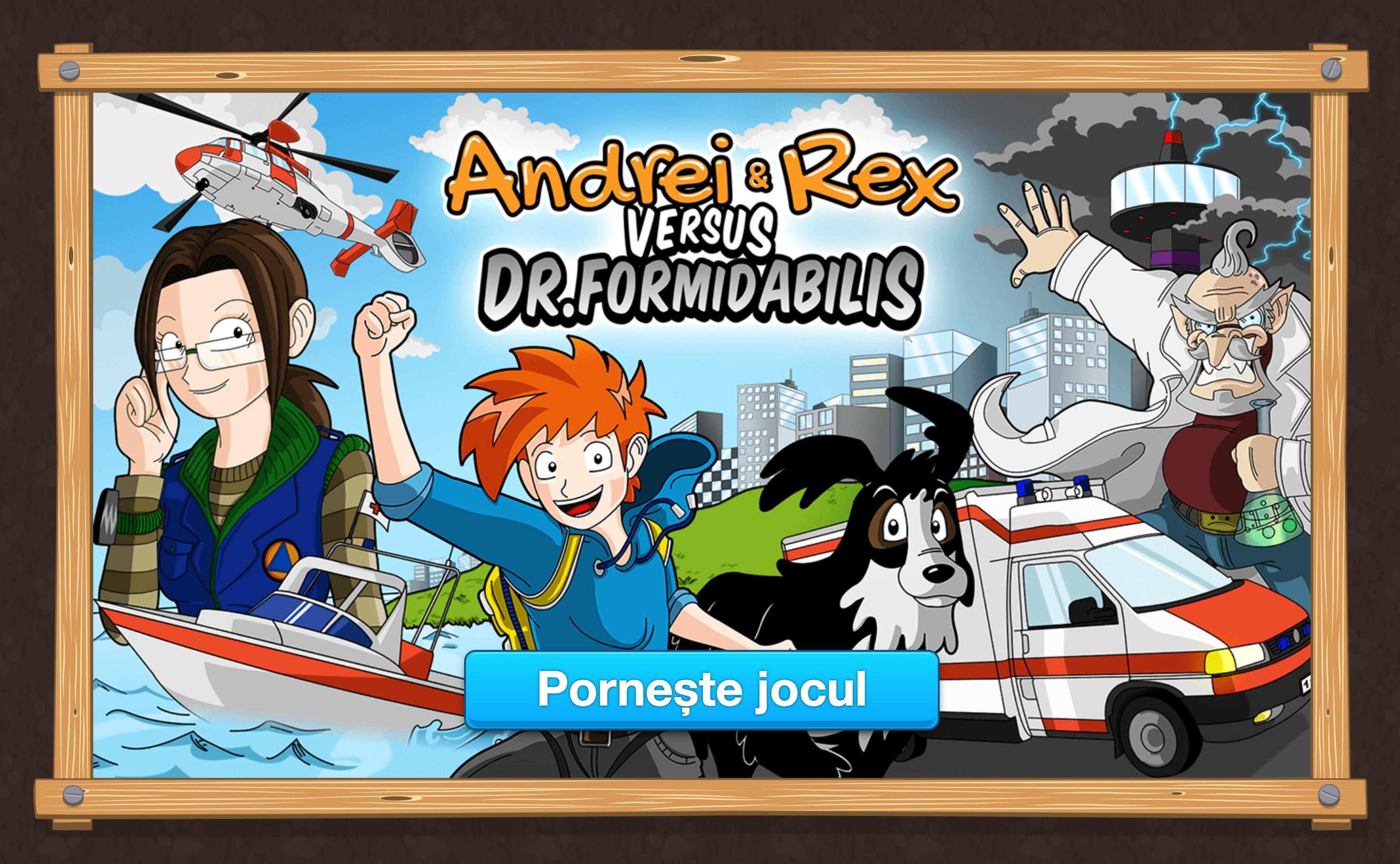 Andrei & Rex versus Dr. Formidabilis